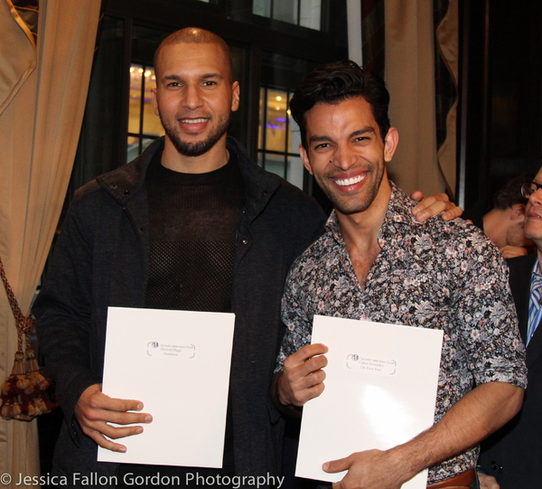 Sydney James Harcourt (accepting the nomination for Daveed Diggs) and Carlos Gonzalez