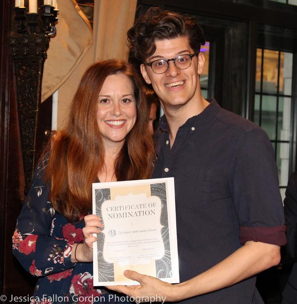Claire Karpen and James Ortiz