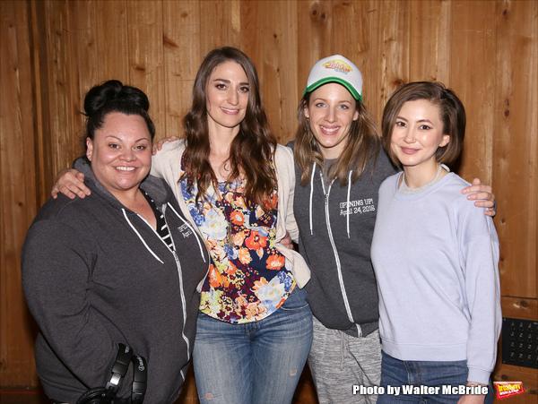Keala Settle, Sara Bareilles, Jessie Mueller and Kimiko Glenn