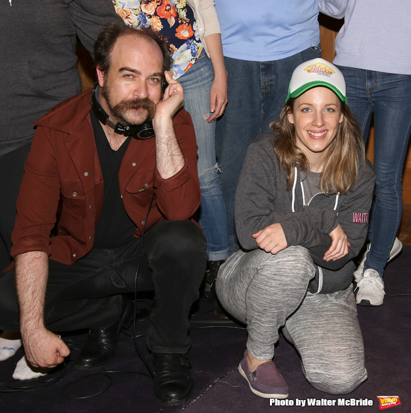 Eric Anderson and Jessie Mueller