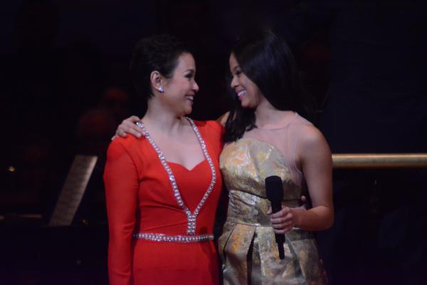 Lea Salonga and Eva Nobelzada
