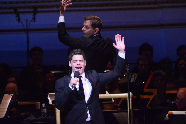 Steven Reineke and Jeremy Jordan