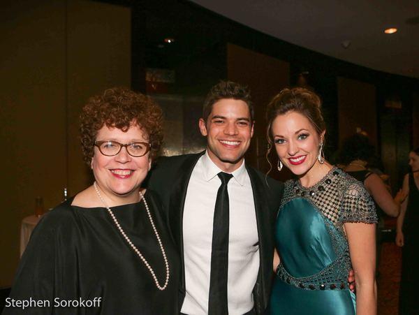 Judith Clurman, Jeremy Jordan, Laura Osnes
