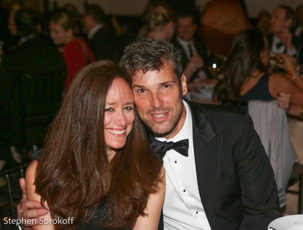 Caroline Sorokoff & Hugh Panaro
