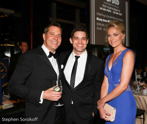 Steven Reineke, Jeremy Jordan, Ashley Spencer