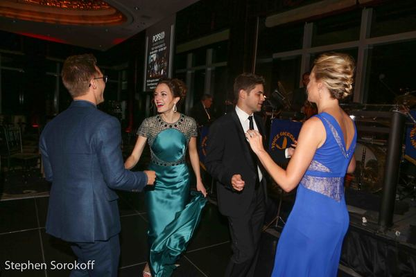 Nathan Johnson, Laura Osnes, Jeremy Jordan, Ashley Spencer