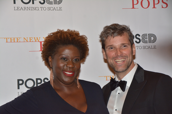 Capathia Jenkins and Hugh Panaro