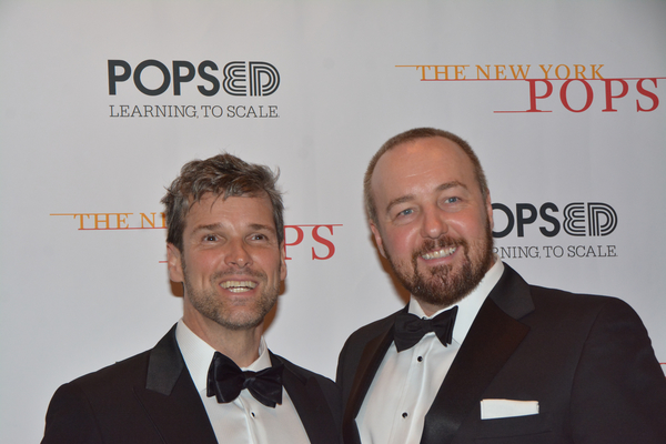 Hugh Panaro and John Owen-Jones