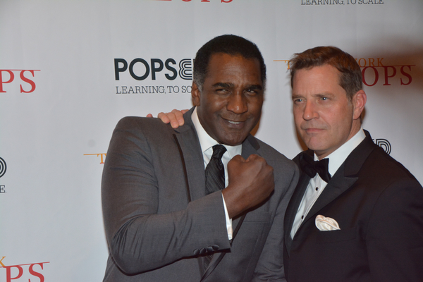 Norm Lewis and Steven Reineke