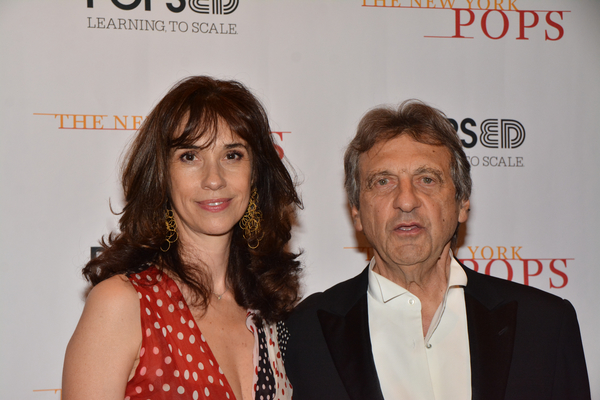 Marie Zamora and Alain Boublil Photo