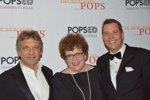 Alain Boublil, Judith Clurman and Steven Reineke