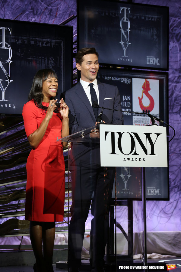 Nikki M. James and Andrew Rannells