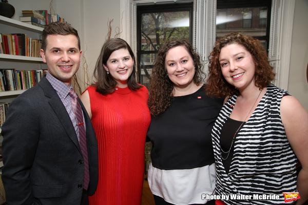 Seth Cotterman, Rachel Routh, Jamie Balsai and Tessa Raden