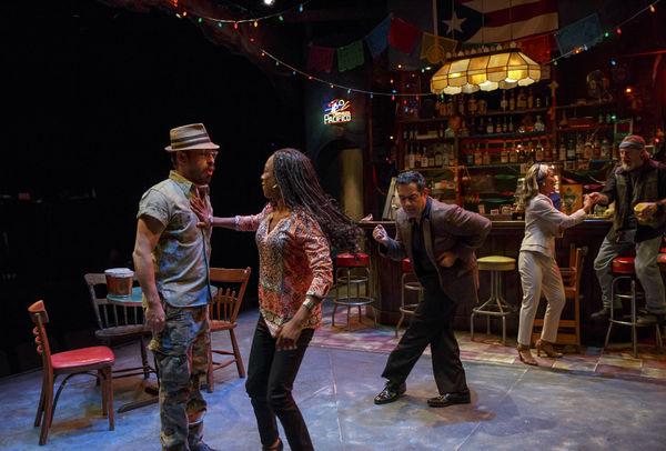 Matthew Saldivar as Pablo, Samira Wiley as Ruby, Carlos Gomez as Acosta, Daphne Rubin-Vega as Inez and Gordon Joseph Weiss as Rey