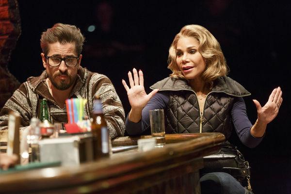 Matthew Saldivar as Pablo and Daphne Rubin-Vega as Inez