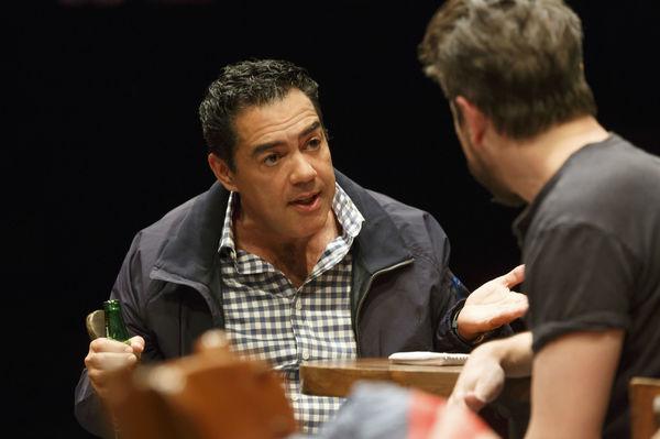 Carlos Gomez as Acosta and Matthew Saldivar as Pablo