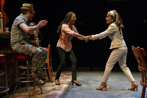 Matthew Saldivar as Pablo, Samira Wiley as Ruby and Daphne Rubin-Vega as Inez