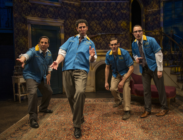 Marc Grapey (Willy Loman), Sean Fortunato (The Stage Manager), Michael Perez (Stanley Photo