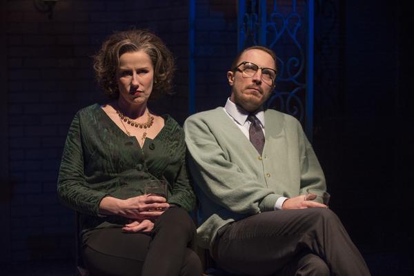 Karen Janes Woditsch (Martha) and John Hoogenakker