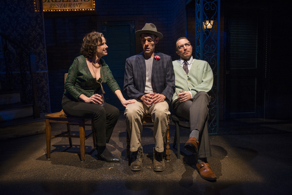Karen Janes Woditsch (Martha), Michael Perez (Stanley Kowalski) and John Hoogenakker