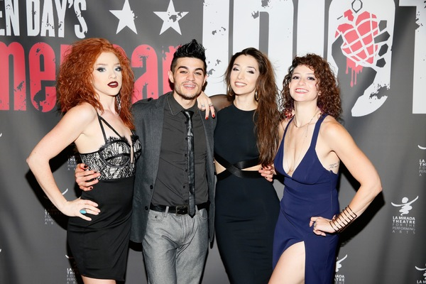 Adrianna Rose Lyons, A.J. Mendoza, Ashley Loren and Jordan Kai Burnett