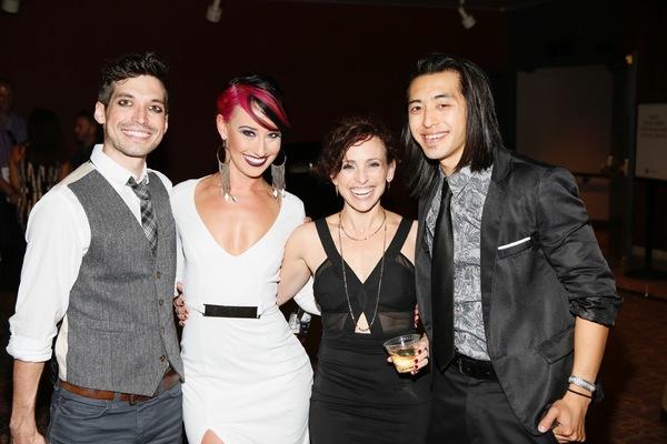 Billy Kametz, Nina Schreckengost, Dana Solimando and Chris Marcos  Photo
