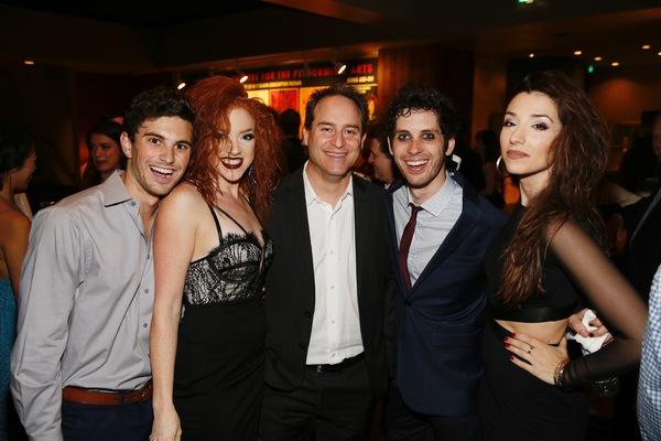 Cast members Juan Caballer, Adrianna Rose Lyons, Director Brian Kite and cast members Photo