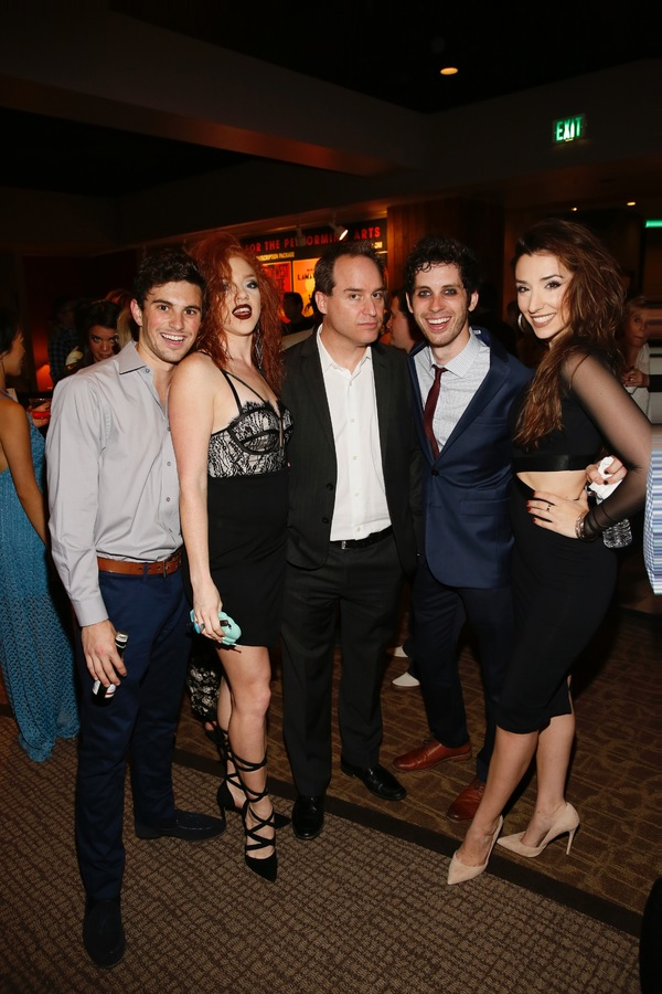 Juan Caballer, Adrianna Rose Lyons,  Brian Kite and Sean Garner and Ashley Loren