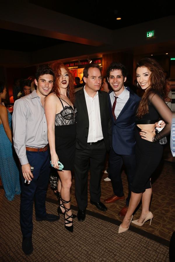 Juan Caballer, Adrianna Rose Lyons,  Brian Kite and Sean Garner and Ashley Loren Photo
