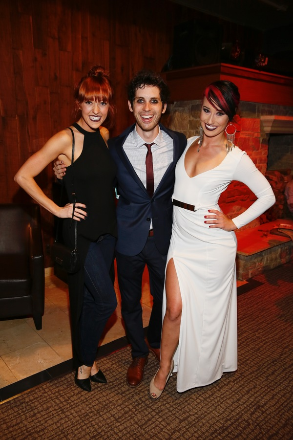 Jenna Wright and Sean Garner and Nina Schreckengost Photo