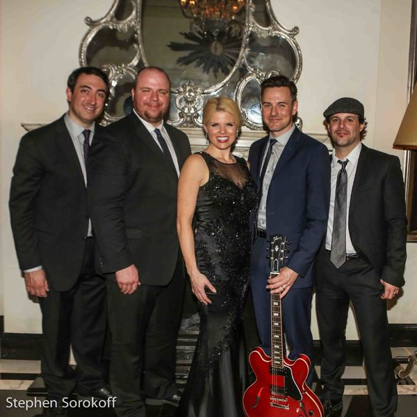 Dennis Keefe, Megan Hilty, Ryan Hoagland, Brian Gallagher, Matt Cusson, Music  Photo