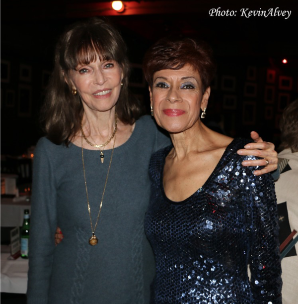 Barbara Feldon, Iris Williams Photo