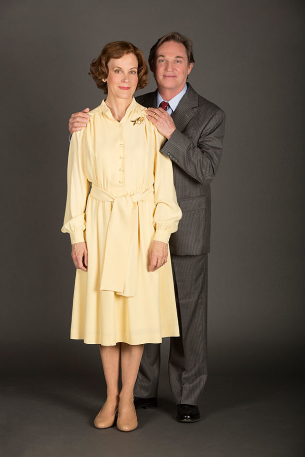 Hallie Foote as Rosalynn Carter and Richard Thomas as Jimmy Carter