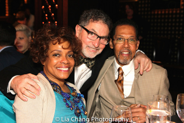 Denise Burse, Willie Reale and Peter Jay Fernandez Photo