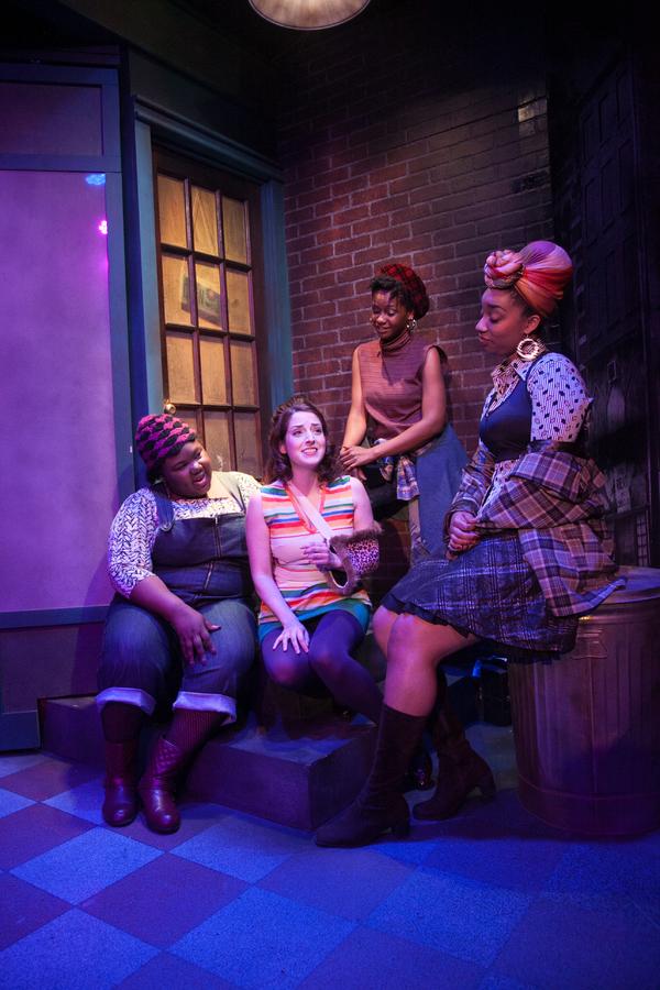Jasondra Johnson, Dara Cameron, Eunice Woods and Camille Robinson Photo