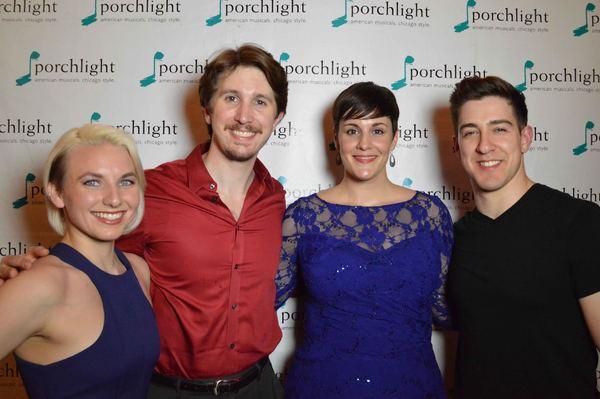 Britt-Marie Sivertsen (Svetlana), Justin Adair (Anatoly), Danni Smith (Florence) and Adrian Aguilar (Freddie)