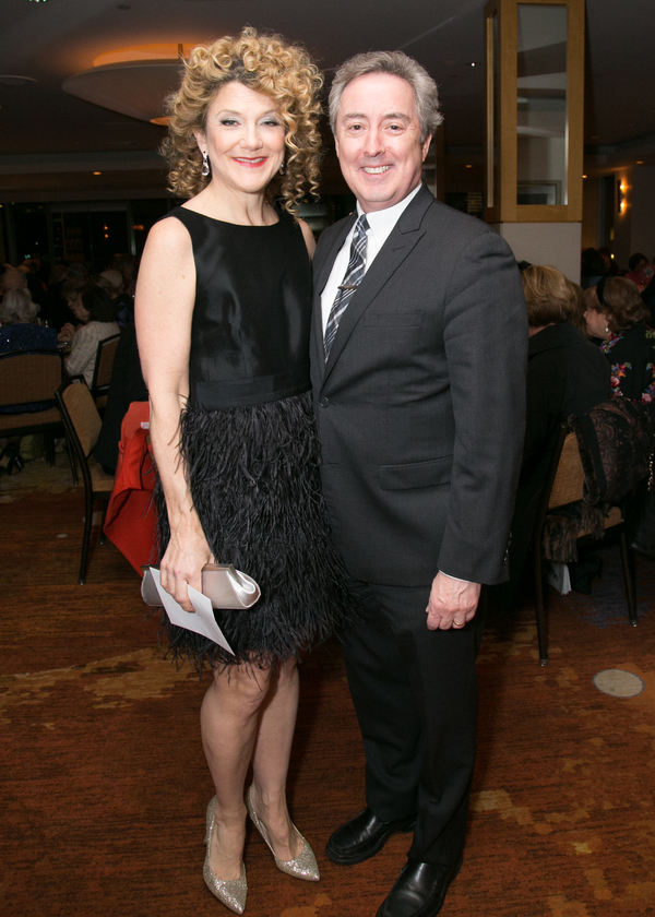 Victoria Clark and her husband, Thomas Reidy