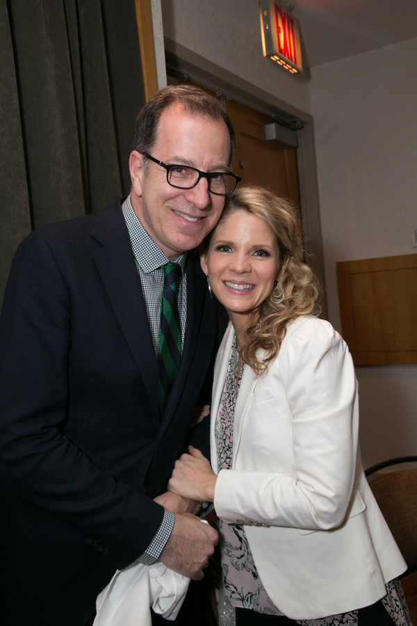 Ted Sperling and Kelli O'Hara