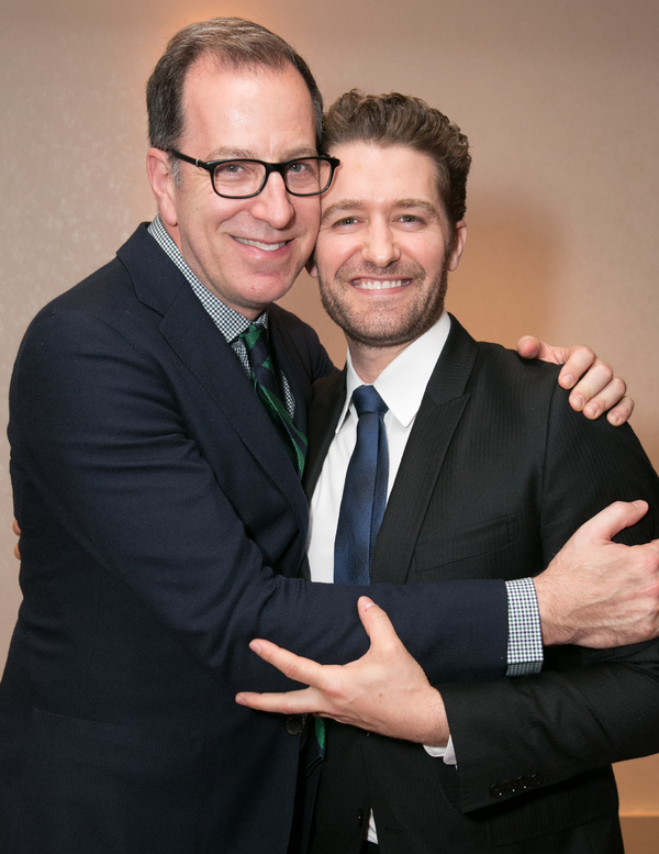Ted Sperling and Matthew Morrison