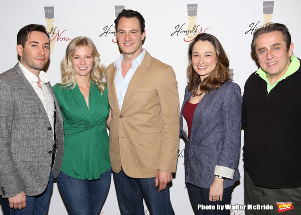 Photo Coverage: Matt Bogart, Whitney Bashor and the Company of HIMSELF AND NORA Meets the Press