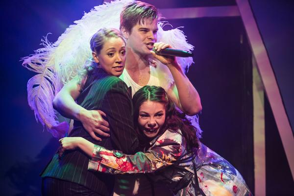 Victoria Hope (Ruth), Alex Green (Angel) and Katie Ann Dolling (Maddie) Photo