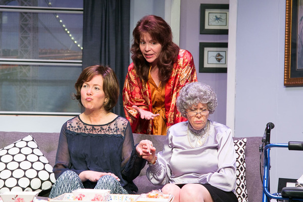 MJ Hartell as Marjorie Taub, Rosemary Howard as Lee Green, and Jody Bayer as Freida (Mother)