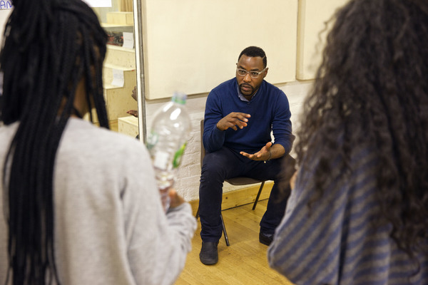 Photo Flash: In Rehearsal for CUTTIN' IT at the Young Vic
