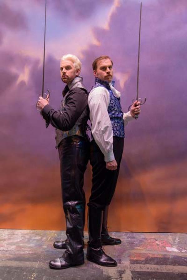 Matt Farcher and Darren Ritchie