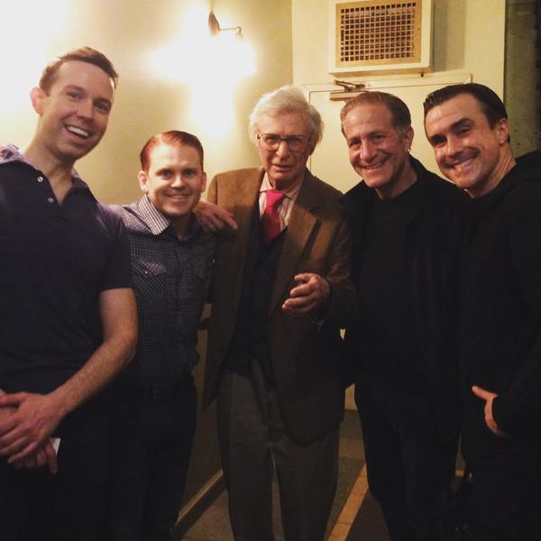 Jeremy Benton, Robert Creighton, The Amazing Kreskin, Bruce Sabath and Josh Walden