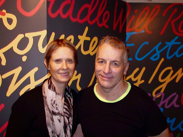 Cynthia Nixon and Bill Bowers Photo