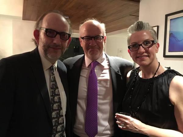 Max Baker, Wally Dunn, and Margaret Dunn