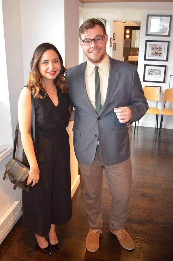 Lisa Rosado and Ian Poake