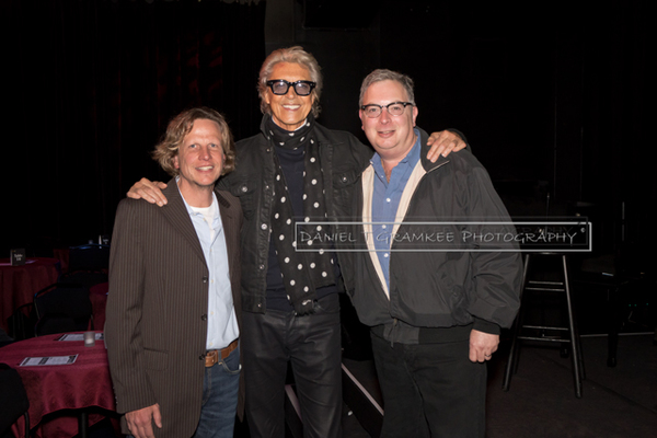 Tommy Tune with RRAZZ ROOM owners Robert Kotonly & Rory Paull
