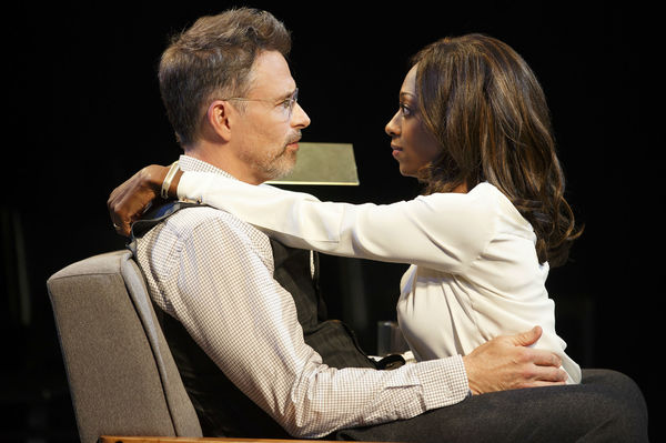 Tim Daly and Rachael Holmes